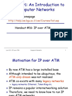Lecture 12 1-IPover ATM