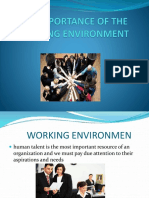 Clima Laboral, Presentacion de Ingles