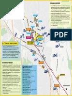 Plan de circulation à St Dié-des-Vosges pour la 5e étape du Tour de France 2019