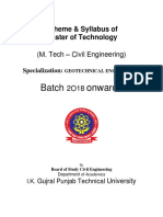 4-5-18 M_Tech Geotechnical Engg Batch 2018