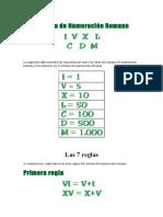 Sistema de Numeración Romano.docx