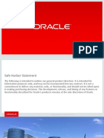 Why Upgrade to 12c