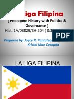 la liga filipina.pptx