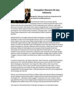 Penjajahan Ekonomi as Atas Indonesia
