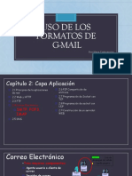 USO DE LOS FORMATOS DE. g mail 1pptx.pptx