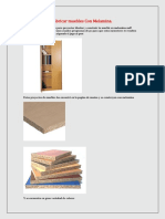 Proyectos Para Fabricar Muebles Con Melamina PDF Convertido 1