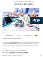O uso da Planilha Excel na Contabilidade