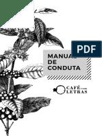 Manual de Conduta Cafe Com Letras 2017 Web