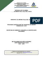 Programa Agropecuario Del Municipio de Jamundí 2012 - 2015
