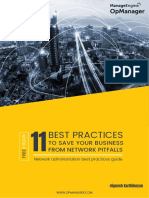 11 best practives to save yur business from network pitfalls