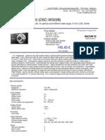 DSC-W320B