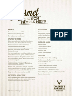 Walter Peak-gourmet-bbq-lunch Summer Sample Menu 2017