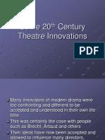 Theatre History 13 20th c Artaud Grotowski Absurdism
