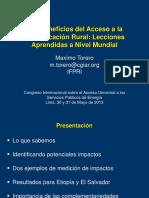 13. MAXIMO TORERO- LOS BENEFICIOS DEL ACCESO A LA ELECTRIFICACION RURAL.pdf