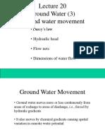 hydraulic gradien