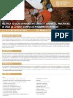 Curso Taller Mecánica de Rocas en Minería Subterránea y Superficial - JUL2019