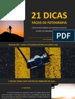 eBook 21 Dicas Faceis de Fotografia