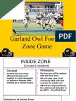 Garland Owl Zone Game - Glazier 2010