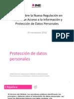 Presentación Protección de Datos Personales