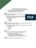 CHN sample NLE questionnaires