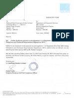 Rakesh Gangwal letter