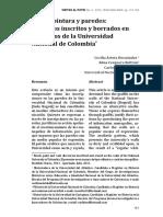 Pincel. pintura y paredes- Discursos inscritos y borrados en los muros de la Universidad Nacional de Colombia.pdf