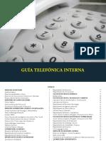 Guía Telefónica Interna UCA