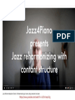 Jazz Reharmonization Tutorial - Jazz4Piano