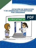Red de Prestación de Servicios y de Urgencias Contratadas Por Emssanar
