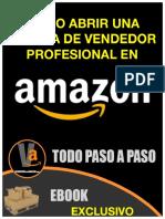 eBook Como Abrir Cuenta de Vendedor Profesional en Amazon