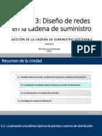 Unidad 3 - Diseño de Redes de Cadena de Suministro - PARTE IV (1)