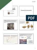 Terremotos y El Interior Terrestre