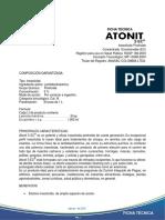Ficha Tecnica Atonit 5ec 8-14
