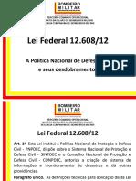 Legislação de Defesa Civil MG
