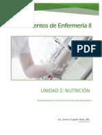 Unidad 2 Nutrición 2018