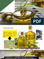 Extracción de Aceite Olivo