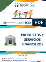 productos y servicios financieros