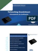 Entrenamiento Networking Grandstream