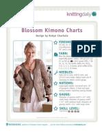 Blossom Kimono Charts