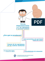 Manual de Agresiones en profesionales de salud