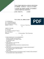 III Party Affidavit
