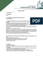 Programa de Lengua Española III
