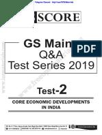GS Mains Q&A Tet Series - 2