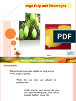 Mango pulp and beverages.ppt