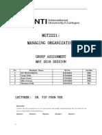 Group Assignment MGT Nokia
