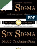 Six Sigma DMAIC Analyze
