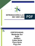 Introduccion a La 14001 Paita