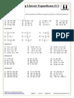Algebra.-Level-6.-Equations.-Solving-Linear-Equations-C.pdf