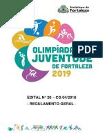 Edital Olimpíadas da juventude