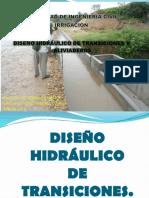 Diseno Hidraulico de Transiciones y Aliviaderos Grupo Pptx